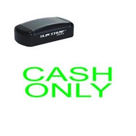Slim Pre-Inked Cash Only Stamp