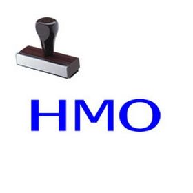 HMO Rubber Stamp