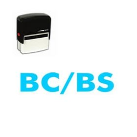 Self-Inking BC/BS Medical Stamp