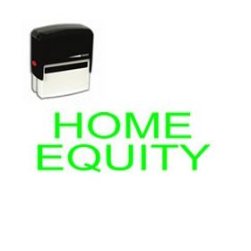 Self-Inking Home Equity Stamp