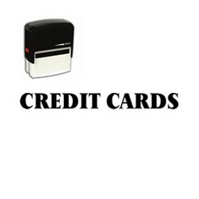 Self-Inking Credit Cards Billing Stamp