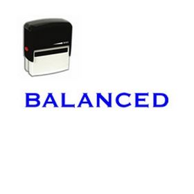 Self-Inking Balanced Stamp