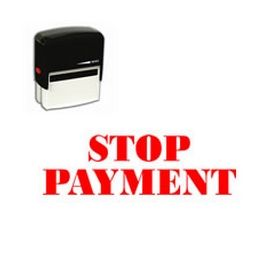Self-Inking Stop Payment Stamp