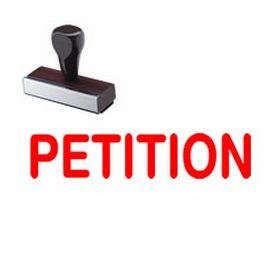 Petition Rubber Stamp