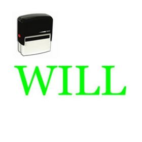 Self-Inking Will Law Office Stamp