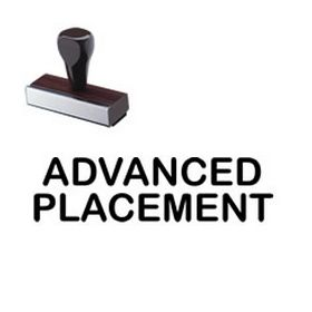 Advanced Placement Classroom Rubber Stamp