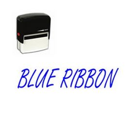 Self-Inking Blue Ribbon Stamp