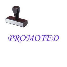 Promoted Rubber Stamp