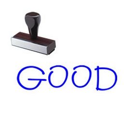 Teacher Grading Good Rubber Stamp