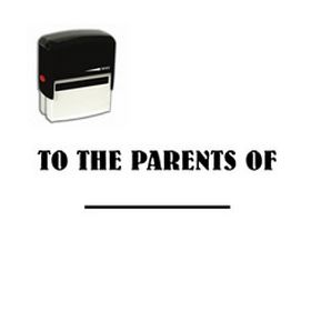 Self-Inking To The Parents Of Stamp