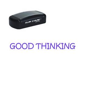 Slim Pre-Inked Good Thinking School Stamp