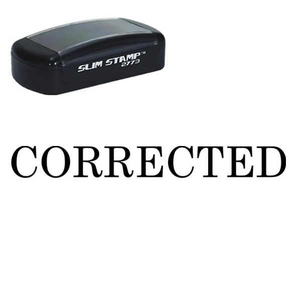 corrected pre ink rubber stamp teacher grading stamps