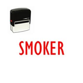 Self-Inking Smoker Stamp