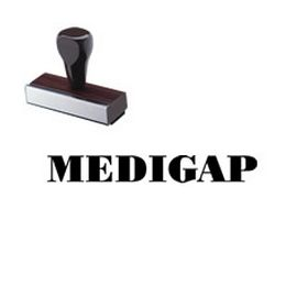 Medigap Rubber Stamp