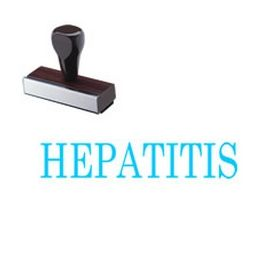 Hepatitis Rubber Stamp