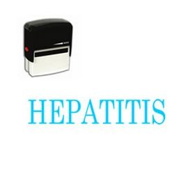 Self-Inking Hepatitis Stamp