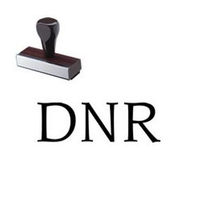 DNR Rubber Stamp