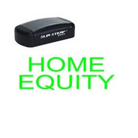 Pre-Inked Home Equity Stamp