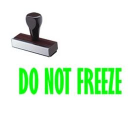 Do Not Freeze Rubber Stamp