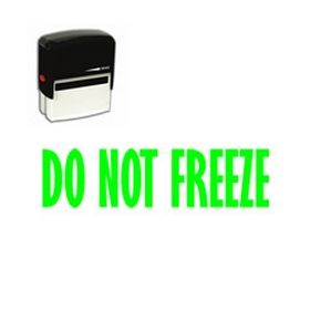 Self-Inking Do Not Freeze Stamp