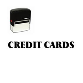 Self-Inking Credit Cards Stamp