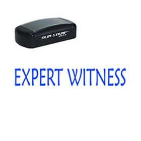 Pre-Inked Expert Witness Stamp