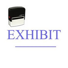 Self-Inking Exhibit Stamp