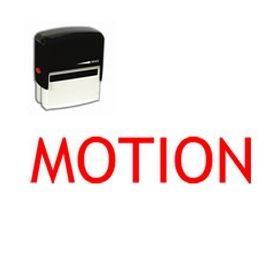 Self-Inking Motion Stamp
