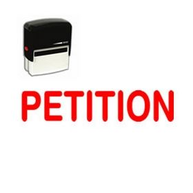 Self-Inking Petition Stamp