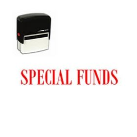 Self-Inking Special Funds Stamp