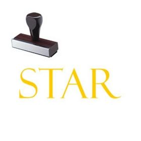 Star Rubber Stamp