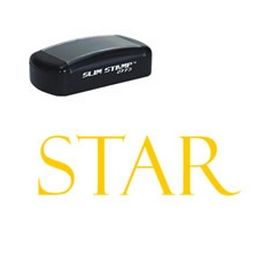 Star Pre-Inked Teacher Stamp