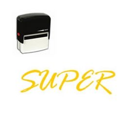 Self-Inking Super Teacher Stamp