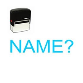 Self-Inking Name? Stamp