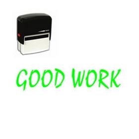 Self-Inking Good Work Stamp
