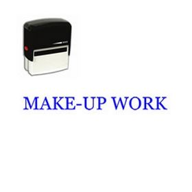 Self-Inking Make-Up Work Stamp