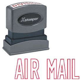 Air Mail Xstamper Stock Stamp