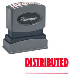 Distributed Xstamper Stock Stamp