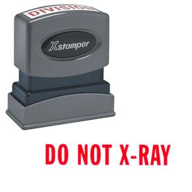 Do Not X-Ray Xstamper Stock Stamp