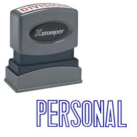 Blue Personal Xstamper Stock Stamp