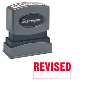 Revises Xstamper Stock Stamp