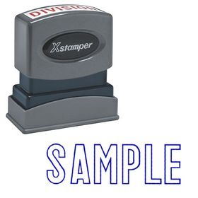 Sample Xstamper Stock Stamp