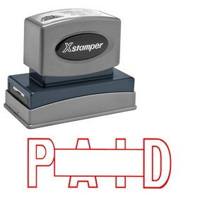 Paid Xstamper Stock Stamp (Large)
