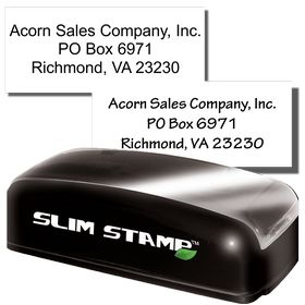 3 Line Slim Address Stamp