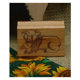 Lamb Art Rubber Stamp