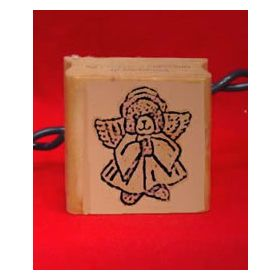 Bear Angel Art Craft Stamp
