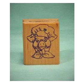 Pig Chef Art Rubber Stamp
