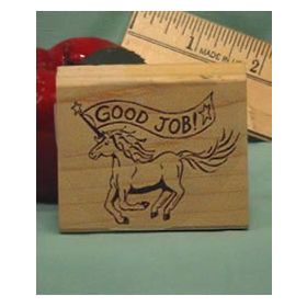 Good Job Art Rubber Stamp