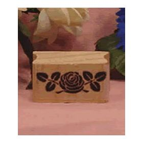 Large Rose Art Rubber Stamp