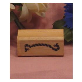 Rope Border Art Rubber Stamp